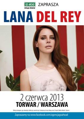 Lana Del Rey - koncert w Polsce