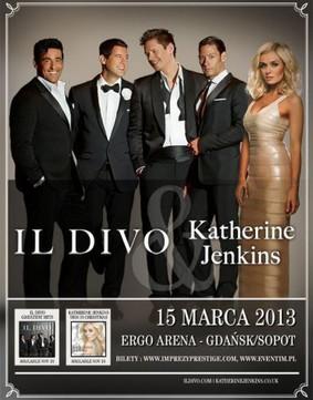 Il Divo & Katherine Jenkins - koncert w Polsce