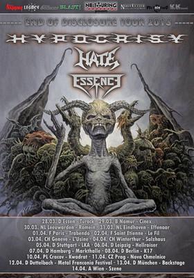 Hypocrisy - koncert w Polsce / Hypocrisy - End Of Disclosure Tour 2013