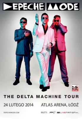 Depeche Mode - koncert w Łodzi / Depeche Mode - The Delta Machine Tour