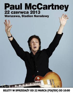 Paul McCartney - koncert w Polsce / Paul McCartney - Out There! Tour