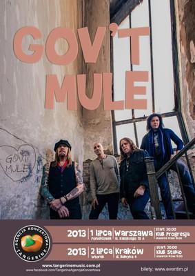 Gov't Mule - koncert w Warszawie
