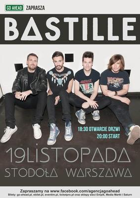 Bastille - koncert w Polsce