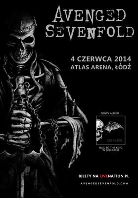Avenged Sevenfold - koncert w Polsce
