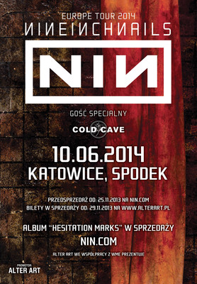Nine Inch Nails - Europe Tour 2014