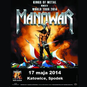 Manowar - koncert w Polsce / Manowar - Kings of Metal MMXIV World Tour 2014