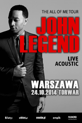 John Legend - koncert w Polsce / John Legend - The All of Me Tour