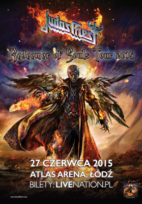 Judas Priest - koncert w Polsce / Judas Priest Redeemer of Souls Tour 2015