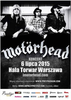 Motörhead - koncert w Polsce