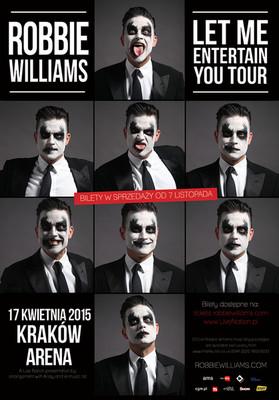 Robbie Williams - koncert w Polsce / Robbie Williams - Let Me Entertain You Tour