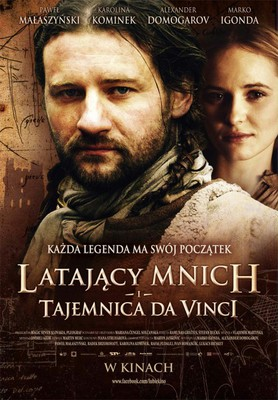 Latający mnich i tajemnica da Vinci / Legenda o lietajúcom cypriánovi