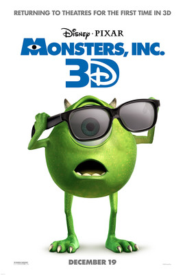 Potwory i Spółka 3D / Monsters, Inc. 3D