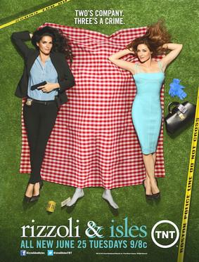 Partnerki - sezon 4 / Rizzoli & Isles - season 4