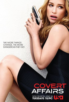 Kamuflaż - sezon 5 / Covert Affairs - season 5