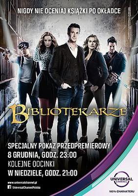 Bibliotekarze - sezon 1 / The Librarians - season 1