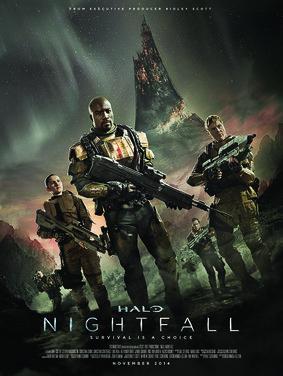 Halo Nightfall - miniserial / Halo Nightfall - mini-series