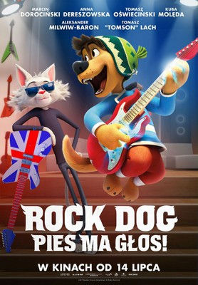 Rock Dog. Pies ma głos! / Rock Dog
