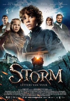 Storm. Opowieść o odwadze / Storm: Letters van Vuur