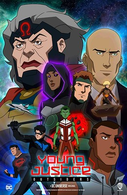 Young Justice: Outsiders - sezon 3 / Young Justice: Outsiders - season 3