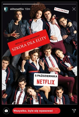 Szkoła dla elity - sezon 2 / Élite - season 2
