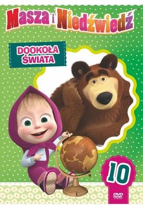 Masza i niedźwiedź. Część 10: Dookoła świata