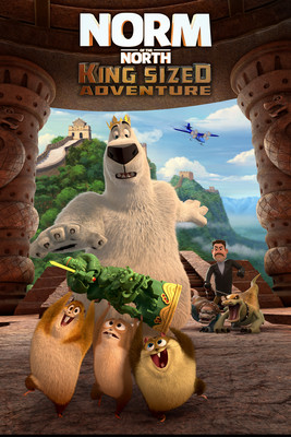 Misiek i chiński skarb / Norm of the North: King Sized Adventure