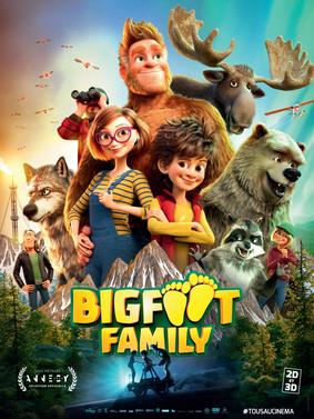 Mała Wielka Stopa 2: W rodzinie siła / Bigfoot Family