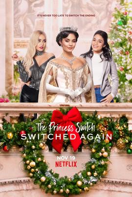 Zamiana z księżniczką 2 / The Princess Switch: Switched Again