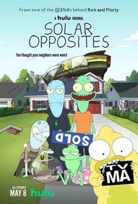 Spoza układu - sezon 3 / Solar Opposites - season 3