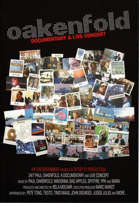 Paul Oakenfold - Documentary & Live Concert [DVD]