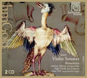 Andrew Manze, Romanesca - Violin Sonatas