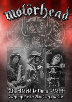 Motörhead - The Wörld Is Ours Vol. 1 - Everywhere Further Than Everyplace Else [DVD]
