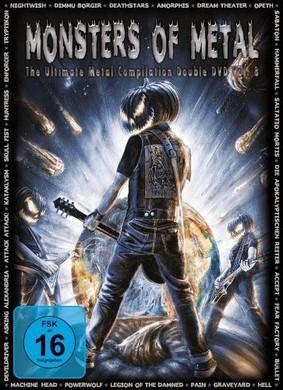Various Artists - Monsters Of Metal. Volume 8 [DVD]