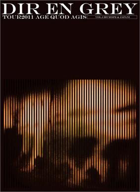 Dir En Grey - Tour 2011 Age Quod Agis Vol.1 [DVD]