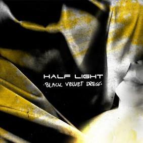Half Light - Black Velvet Dress