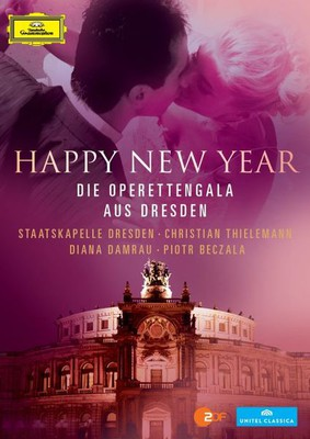 Staatskapelle Dresden - Happy New Year - Die Operettengala aus Dresden [Blu-ray]