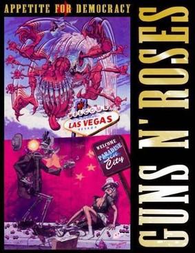 Guns N' Roses - Appetite For Democracy 3D: Live from the Hard Rock Casino - Las Vegas [DVD]