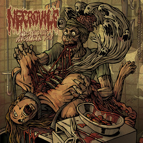 Necrovile - Engorging The Devourmental Void