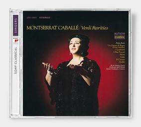 Caballe Montserrat - Verdi Rarities