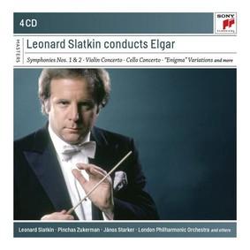 Leonard Slatkin - Leonard Slatkin Conducts Elgar