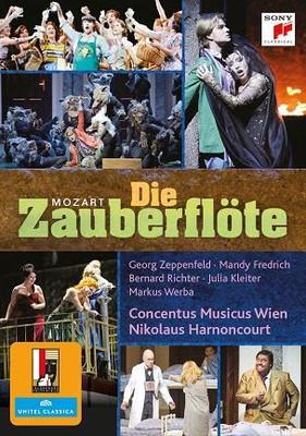 Nikolaus Harnoncourt - Mozart: Die Zauberflöte [Blu-ray]