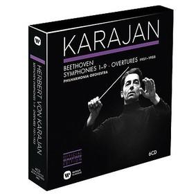 Herbert von Karajan, Philharmonia Orchestra - Beethoven: Symphonies & Overtures