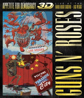 Guns N' Roses - Appetite For Democracy 3D: Live from the Hard Rock Casino - Las Vegas [Blu-ray]