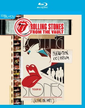 The Rolling Stones - From The Vault: Hampton Coliseum – Live In 1981 [Blu-ray]