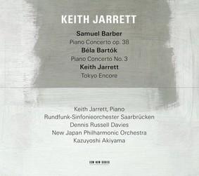 Keith Jarrett - Barber: Piano Concerto Op. 38 / Bartok: Piano Concerto Op. 3