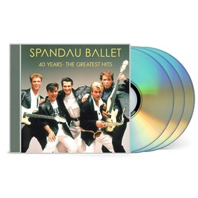 Spandau Ballet - 40 Years - The Greatest Hits