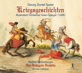 Ars Antiqua Austria, Gunar Letzbor - Speer: Kriegsgeschichten