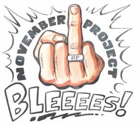 November Project - Bleeees!