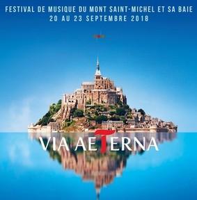 Various Artists - Via Aeterna Disque Officiel du Festival du Mont Saint Michel -Du 20/09 au 23/09