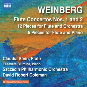 Szczecin Philharmonic Orchestra - Weinberg: Flute Concertos Nos. 1 And 2